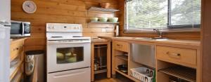 point no point resort cabin 1 kitchen