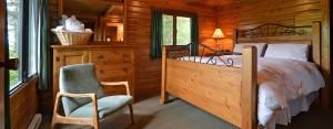 point no point resort cabin 1 master bedroom