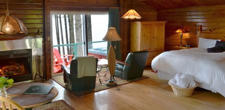 cabin c humming bird cabin interior at point no point resort