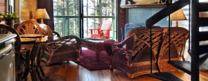 Jacobs Creek cabin interior