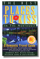The best places to kiss book cover